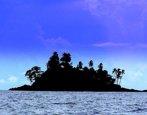 island silouette